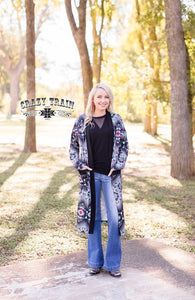 Crazy Train CATTLE RANCH CARDIGAN