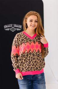 Crazy Train CIRCUS RODEO KNIT PULLOVER SWEATER