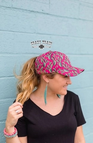 "Crazy Train ""Pony Tail"" Cap Many colors to choose from"