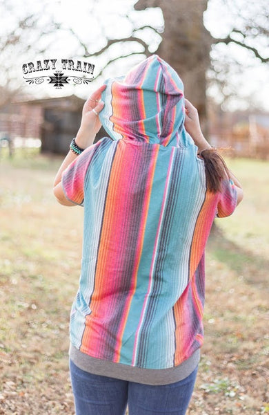 Crazy Train THE HANNAH HOODIE ** SERAPE