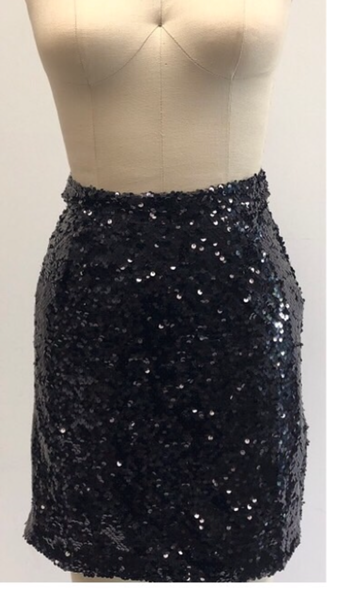 L&B Sequin Short Skirt Several Colors To Choose From