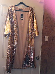 L&B Sequin Cardigan Several Colors To Choose From