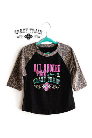 Crazy Train All Aboard The Crazy Train Kids Top