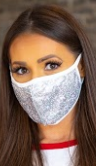 L&B Sequin Mask Several Colors To Choose From