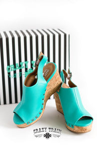 Crazy Train SHOWDOWN WEDGE *** TURQUOISE