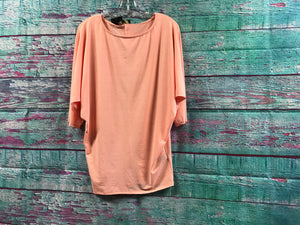 L&B Peach Dolman Top
