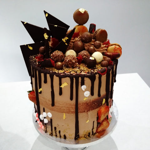 All about Chocolate Drip Cake - Cakes, cookies & cupcakes,  Cakes - cupcakes, cakes, cookies, Georgie Porgie Cakes & Gifts - Georgie Porgie Cakes & Gifts