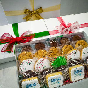 Holiday gift box - Cakes, cookies & cupcakes,  Cookies - cupcakes, cakes, cookies, Georgie Porgie Cakes & Gifts - Georgie Porgie Cakes & Gifts