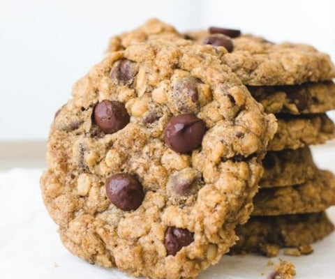 12 Gourmet Oatmeal Chocolate Chip Cookies - Cakes, cookies & cupcakes,  Cookies - cupcakes, cakes, cookies, Georgie Porgie Cakes & Gifts - Georgie Porgie Cakes & Gifts