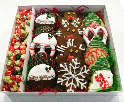 Large Cookie gift box - Cakes, cookies & cupcakes,   - cupcakes, cakes, cookies, Georgie Porgie Cakes & Gifts - Georgie Porgie Cakes & Gifts