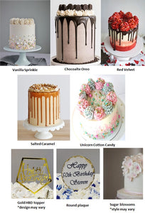 COVID Celebration Cakes 5 to choose from