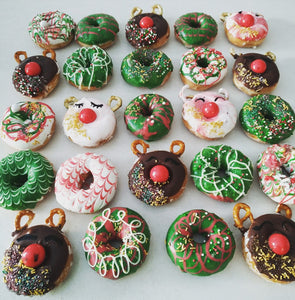 Festive Donuts - Cakes, cookies & cupcakes,  Mini Donuts - cupcakes, cakes, cookies, Georgie Porgie Cakes & Gifts - Georgie Porgie Cakes & Gifts