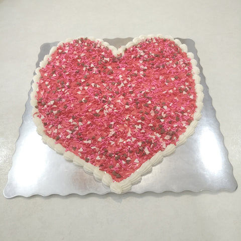 Valentine Giant Heart Cookie - Cakes, cookies & cupcakes,   - cupcakes, cakes, cookies, Georgie Porgie Cakes & Gifts - Georgie Porgie Cakes & Gifts