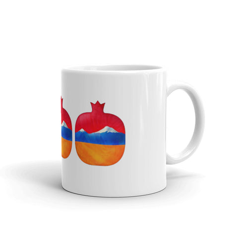Mount Ararat Pomegranate Mug