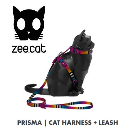 PRISMA HARNES & LEASH ZEECAT