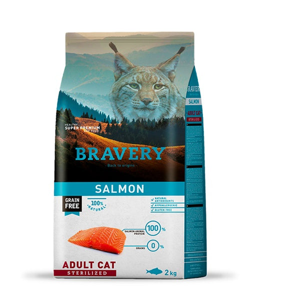 Bravery Adult Salmón Sterilized