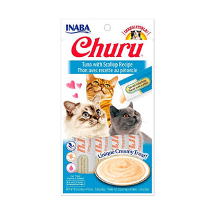 CIAO CHURU™ TUNA CON OSTIONES