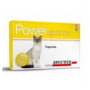 Pipeta Power Forte Gato Hasta 4 kg