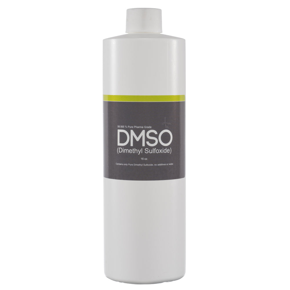 DMSO Dimethyl Sulfoxide 16 oz. Odorless Pure Pharma Grade 99.995% Purity