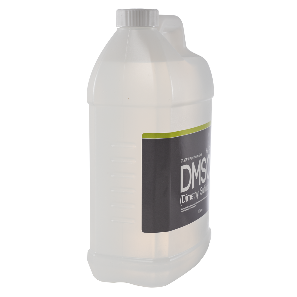 DMSO Dimethyl Sulfoxide 1 Gallon Odorless 99.995% Pharma Grade