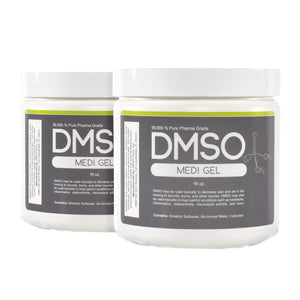 DMSO Dimethyl Sulfoxide Gel 99.995% Non Diluted, Low Odor Pharma Grade 2 lbs.
