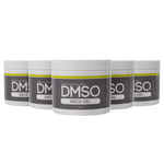 DMSO Dimethyl Sulfoxide Gel 5 Jar Special of 4 oz. 99.995% Non Diluted, Low Odor Pharma Grade