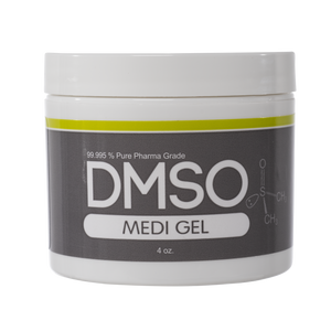 DMSO Dimethyl Sulfoxide Gel 4 oz. 99.995% Non Diluted & Low Odor Pharma Grade DMSO Dimethyl Sulfoxide