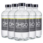 DMSO Dimethyl Sulfoxide Odorless 5 Glass 8 oz. Bottle Special Pure 99.995% Pharma Grade