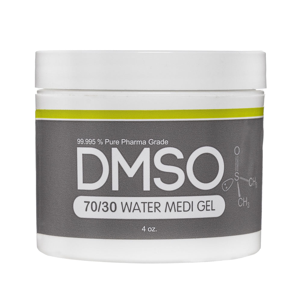 DMSO Dimethyl Sulfoxide Gel 4 oz. Jar -Pharma Grade 99.995% 70/30 DMSO/WATER
