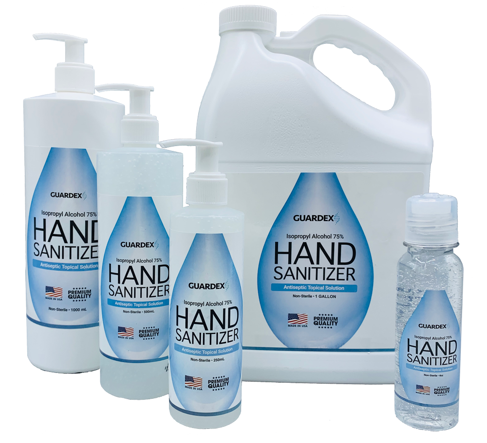 Hand Sanitizer 4oz  w/ Isopropyl Alcohol 75%