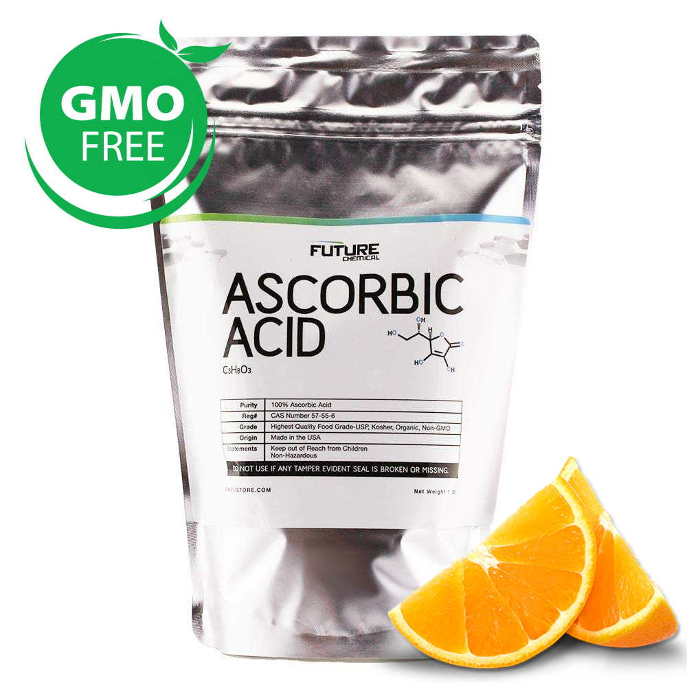 Vitamin C Ascorbic Acid USP Grade Organically Derived 15 lbs.