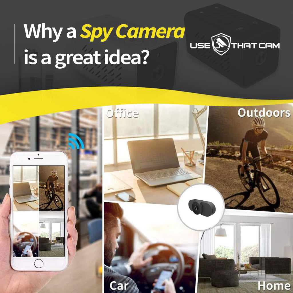 Why a Spy Camera is a great idea?