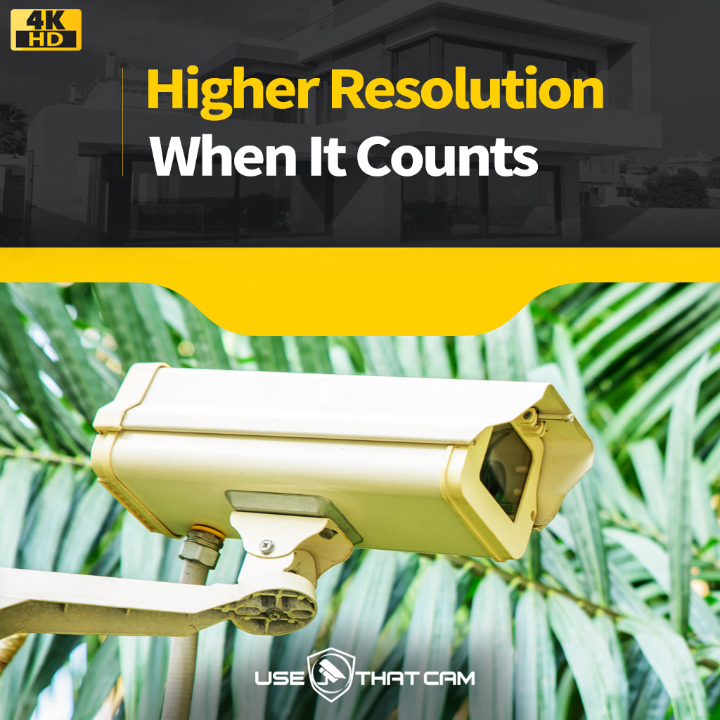 Benefits of High Definition Security Cameras