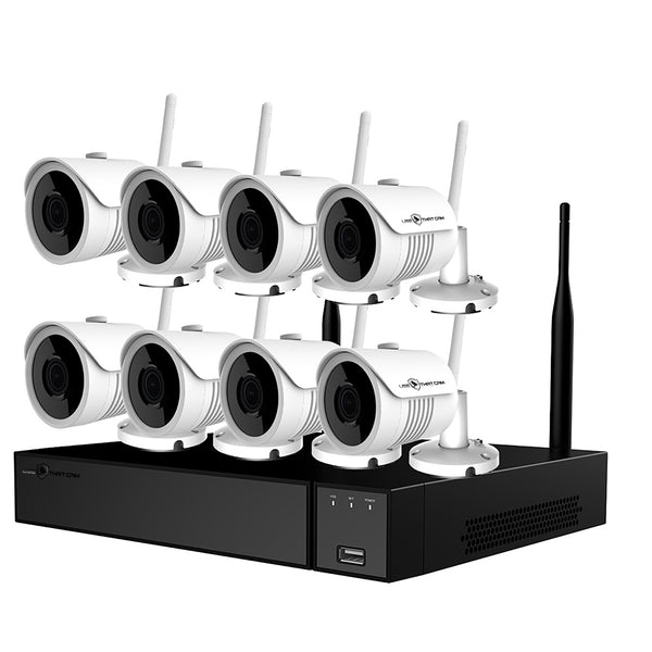 1080 HD Surveillance System With 8 Wireless Security Cameras