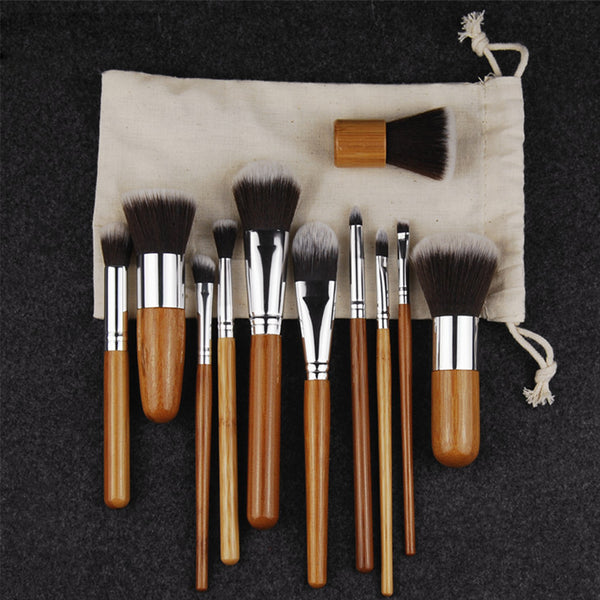 Bamboo Face Brush Set