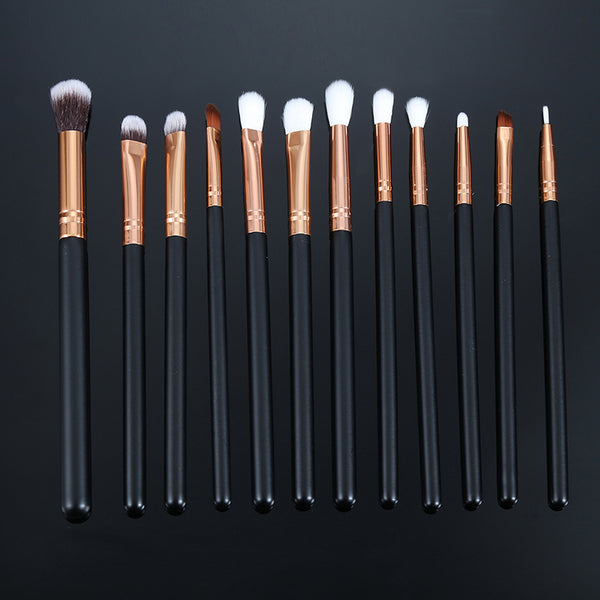 Pro 12 Piece Eye Brush Set