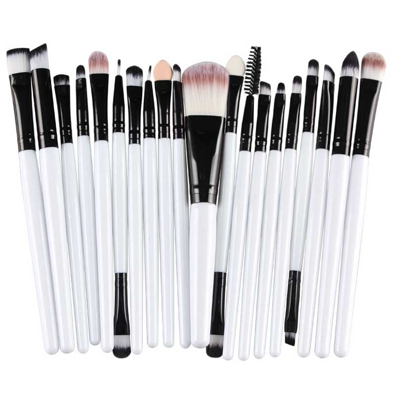White Professional Brush Set