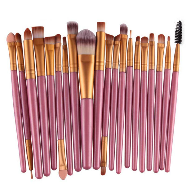 Pink Professional Brush Set