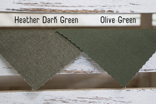 Canvas | Heather Dark Green