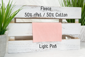 Lightweight Fleece | Light Pink