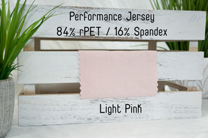 Performance Jersey | Light Pink
