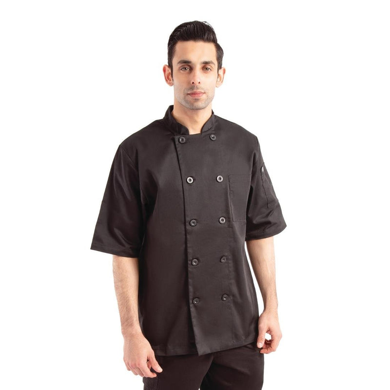 Chef Works Chambery Unisex Chef Coat Size 4XL - B485-4XL