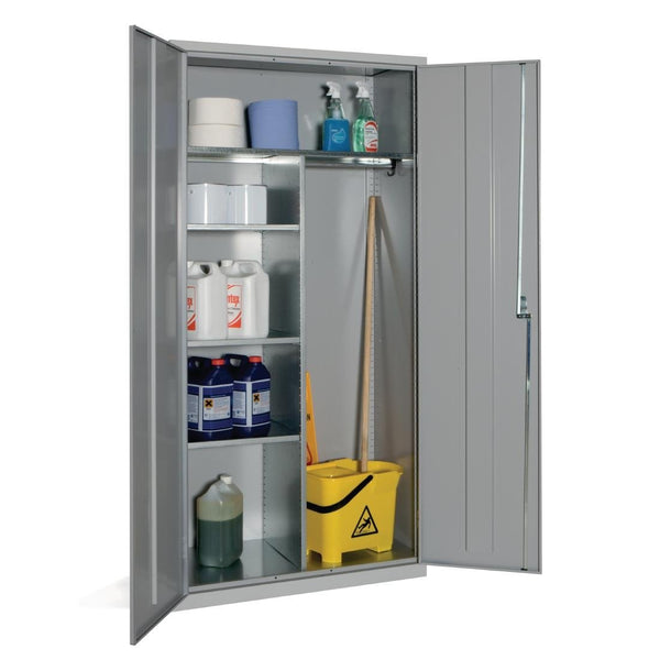 Janitorial Cupboard Grey - CF801