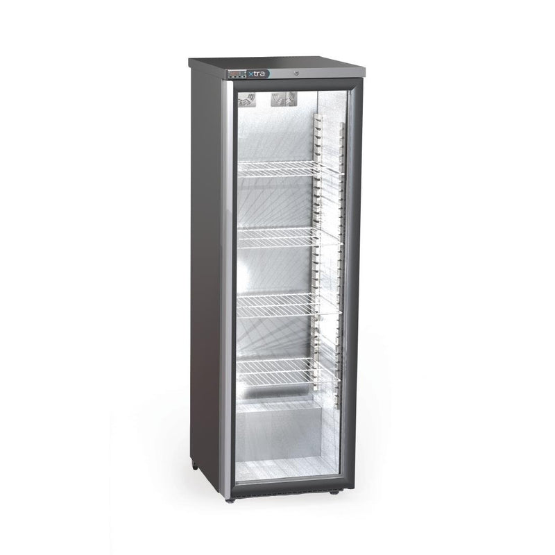 Foster Xtra Slimline 1 Glass Door 410Ltr Cabinet Fridge with Light XR415G 33/113 - CW742-SCL
