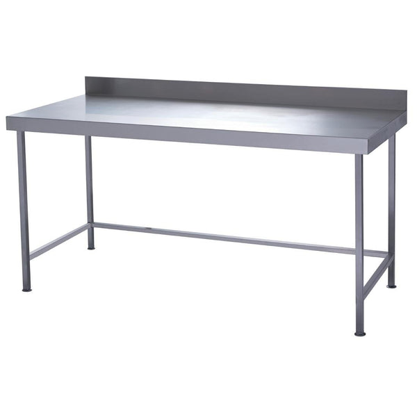 Parry Fully Welded Stainless Steel Wall Table 1200x700mm - DC615