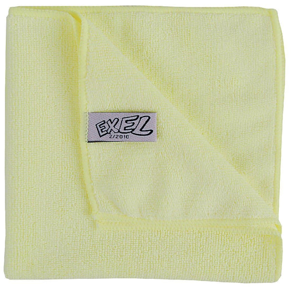 Jantex Microfibre Cloths Yellow (Pack of 5) - DN841
