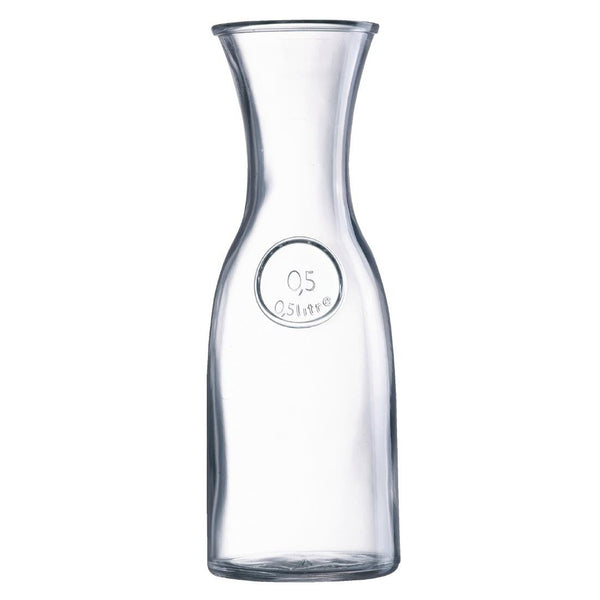 Arcoroc Bystro Carafes 500ml (Pack of 6) - DP100