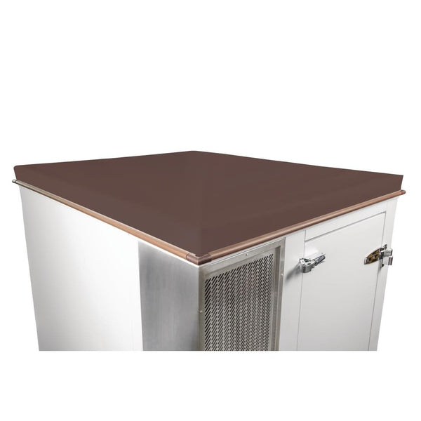 Polar Weatherproof Roof for DS487 Cold Room Vandyke Brown - DT288