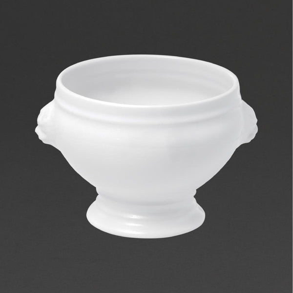 Revol French Classics Lion-Headed Soup Bowls White 104mm (Pack of 6) - DT885