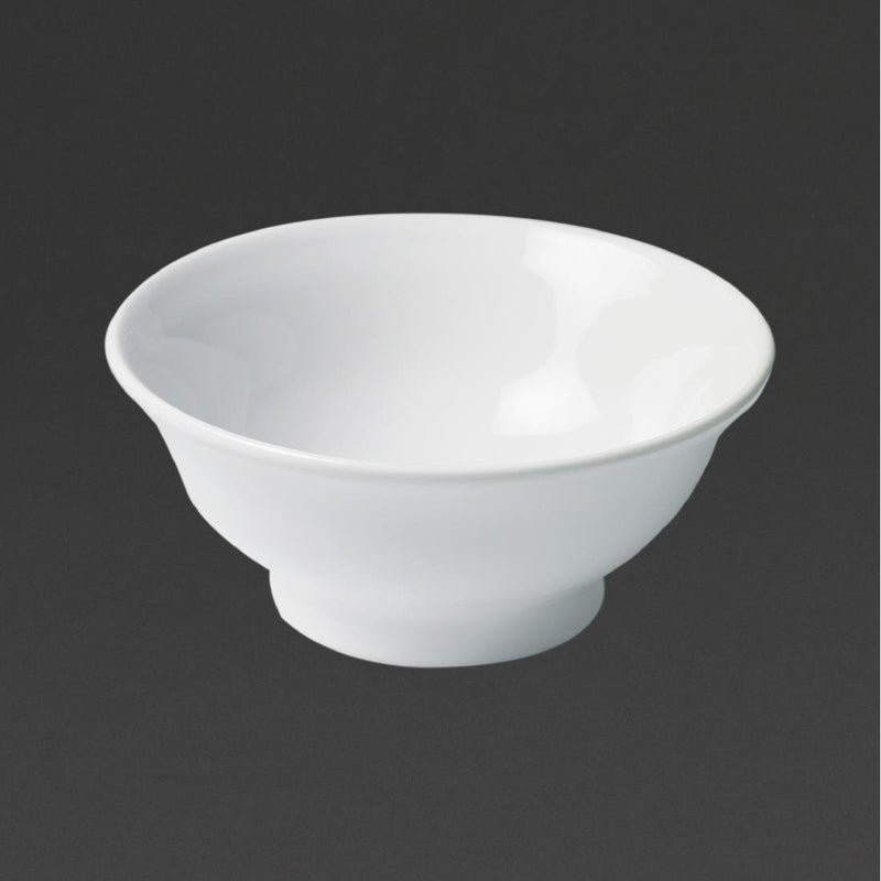 Revol French Classics Lyonnais Salad Bowls White 195mm (Pack of 4) - DT899